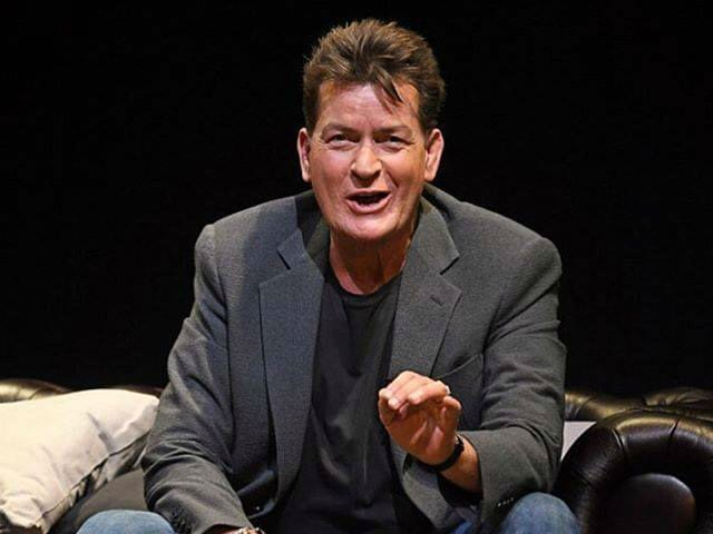 Charlie Sheen Urges Other HIV + Stars to Come Forward