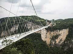 World's Longest, Highest Glass Bridge In China Reopens