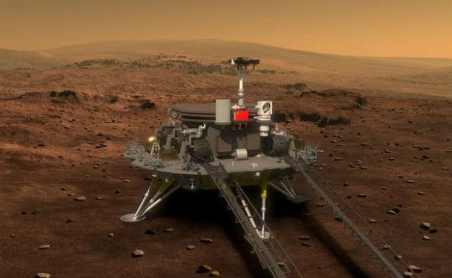 China To Send Probe, Rover To Mars In 2020