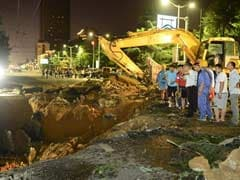 Giant China Sinkhole Swallows Passers-By: Report