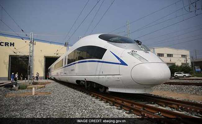 China To Launch World's Fastest Train Next Month: 380 Kms Per Hour