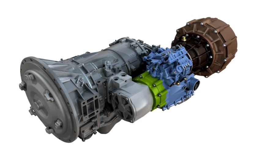 hybrid CVT system