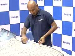 Chennai's Daniel Sundar Attempts To Break Guinness Ironing Record
