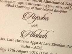 Mumbai Dawood Ibrahims Family To Throw Grand Wedding For Dons Nephew