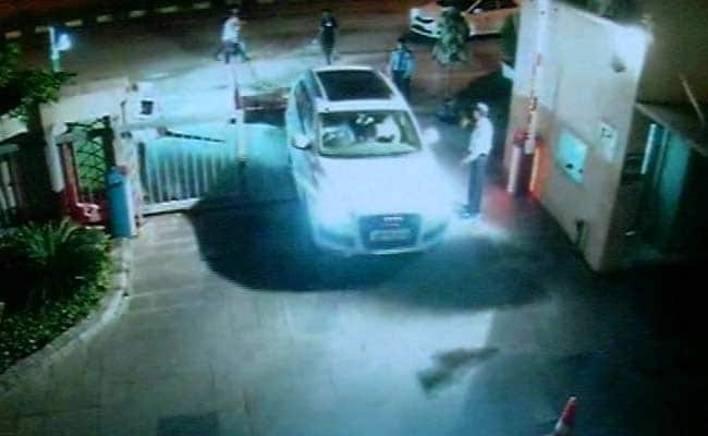 Man Drives Away With Audi From Parking Of 4-Star Hotel Near Delhi