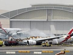 How 300 People Escaped A Fiery Crash Landing In Dubai