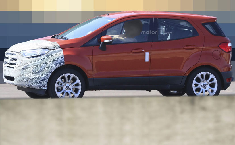india bound ford ecosport facelift spotted testing in europe ndtv carandbike. Black Bedroom Furniture Sets. Home Design Ideas