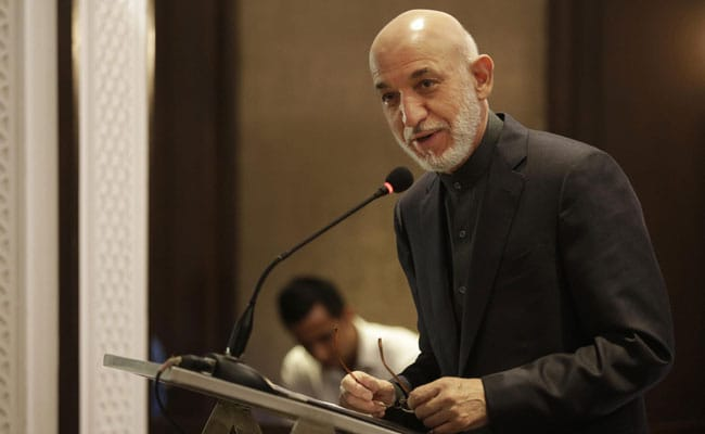 Want India To Be On Board Peace Efforts: Former Afghan President Karzai