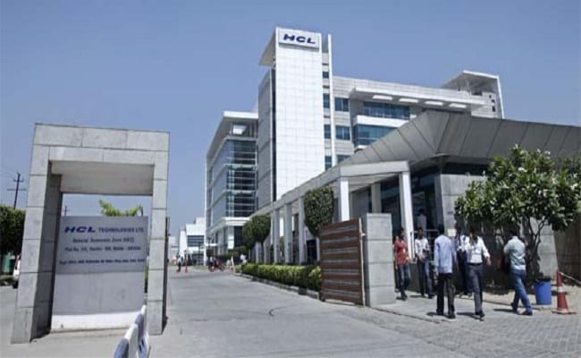 HCL Tech shares end almost 1 pc lower after Q2 earnings