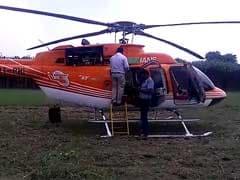 Pawan Hans Helicopter Makes Emergency Landing In Ghaziabad