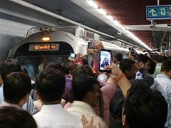 Man Dies After Being Hit By Metro Train At Delhi's Rajiv Chowk