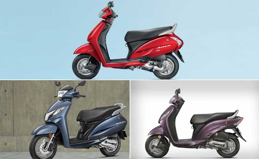 Honda Activa Scooters: Activa Price in India, Specifications, Mileage