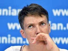 Back In Ukraine, Freed Pilot Savchenko Launches New Hunger Strike