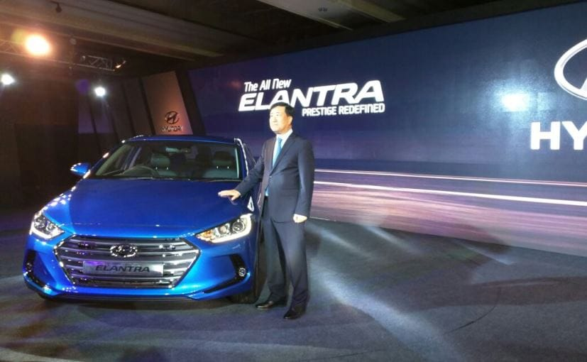 new car launches in bangalore2016 Hyundai Elantra Launched In India Price Starts At Rs 1299