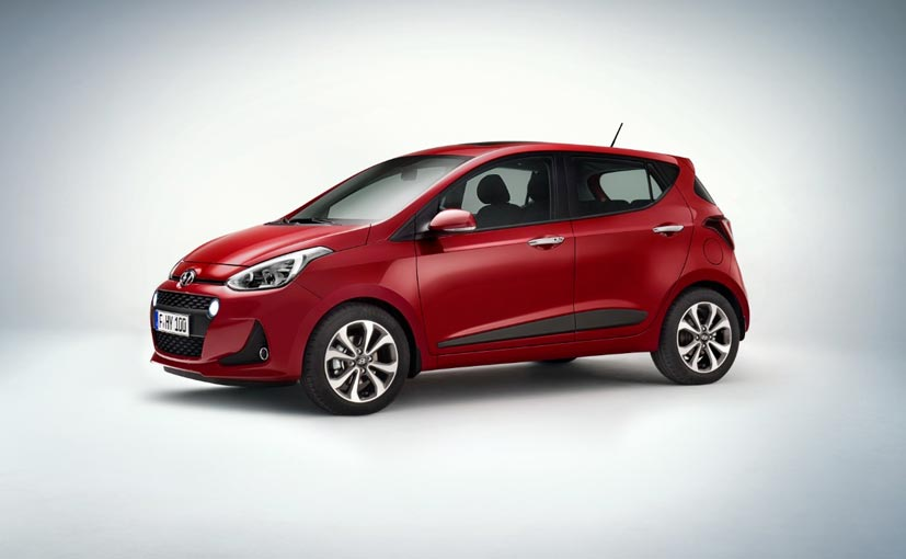 upcoming hyundai grand i10 facelift coming to india in early 2017 ndtv carandbike. Black Bedroom Furniture Sets. Home Design Ideas