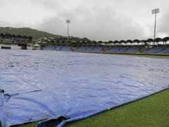 तीसरा टेस्ट : बारिश की भेंट चढ़ा भारत-विंडीज तीसरे दिन का खेल