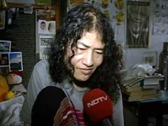Irom Sharmila Shifted To Yoga And Naturopathy Health Centre At Langol