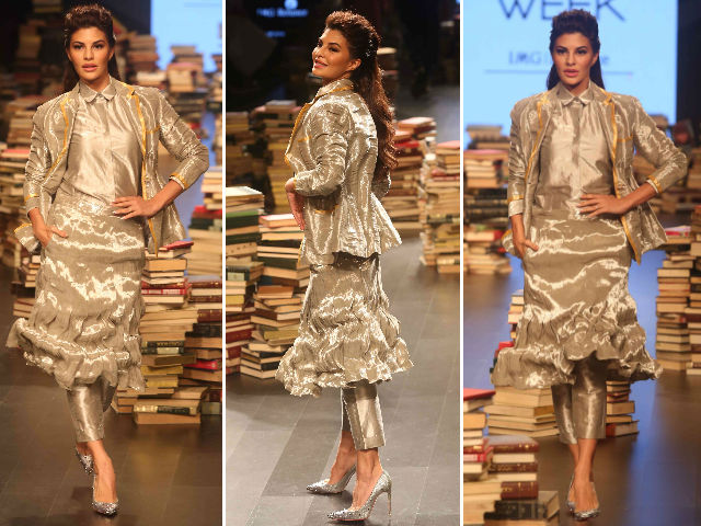 Into The Future With Jacqueline Fernandez at Lakme Fashion Week