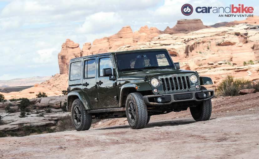 Jeep Wrangler Unlimited 4 Door Version