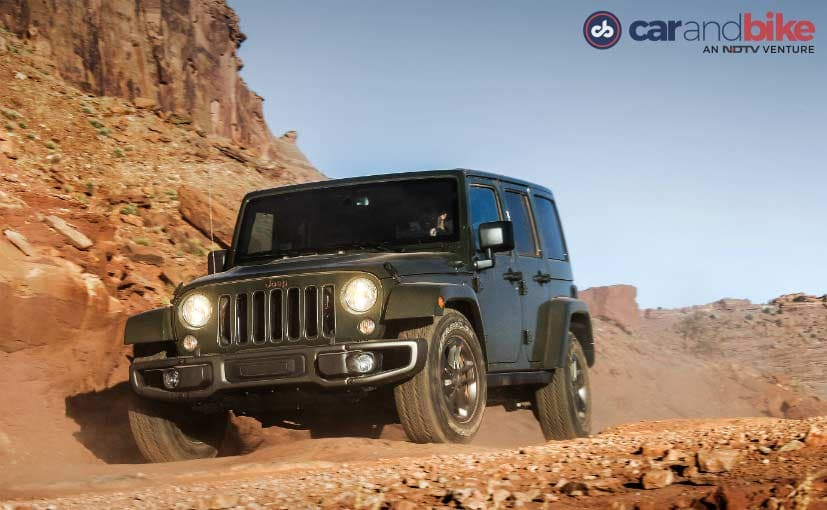 Jeep Wrangler Unlimited's Iconic Seven Slat Grille