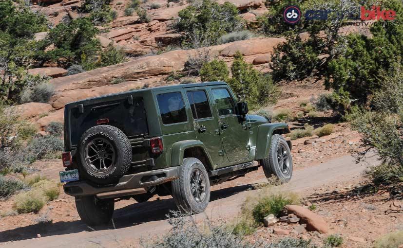 Jeep Wrangler Unlimited Rear