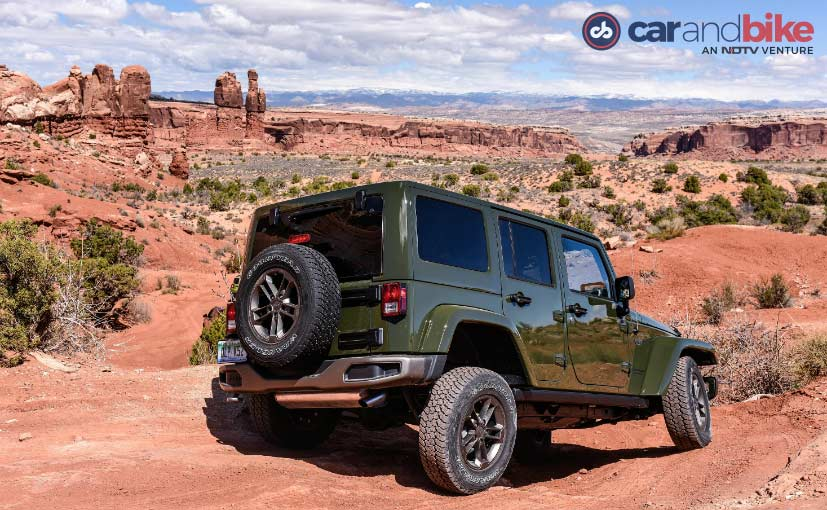 Jeep Wrangler Unlimited Gets Mechanical Four-Wheel-Drives System