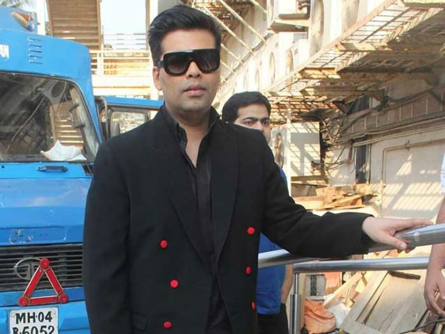 Karan Johar is 'Married to Both Films and Television'