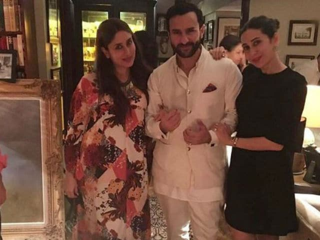 Here's What Aunt Karisma Has to Say About Kareena-Saif's Baby