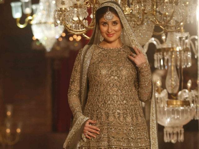 Kareena and Baby Bump on the Ramp. 'Emotional Moment,' Said Actress