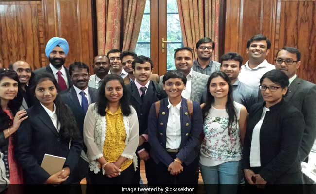 Indian Students Attend Karta Initiative For World Class Education
