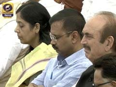 Present But Not Listening: Arvind Kejriwal Dozes During PM Modi's Speech