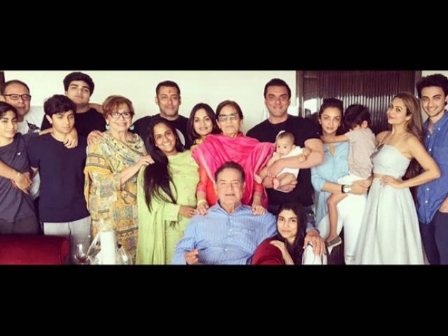 The Big Fat Khan Family: Arpita Posts Kodak Moment Captured on Rakhi