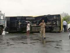 18 Children Injured After Truck Rams School Bus In Kolkata