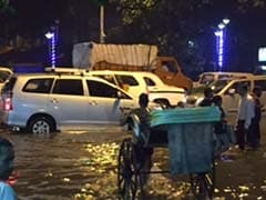 Water Logging, Traffic Jams In Kolkata After Heavy Rain