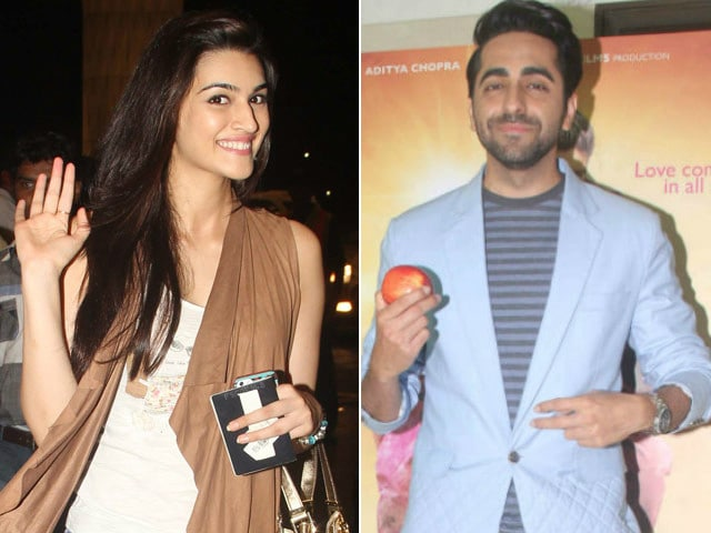 The Bareilly Ki Barfi Cast Includes Kriti, Ayushmann and...
