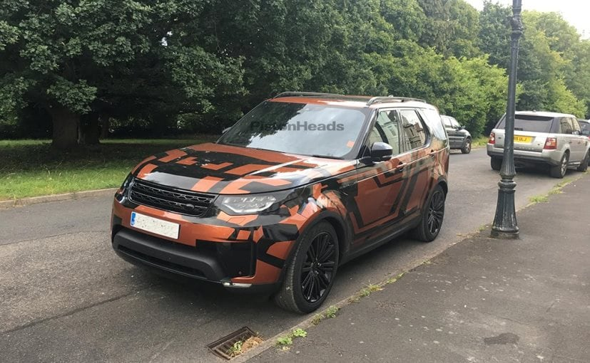 Next Generation Land Rover Discovery Spotted Testing