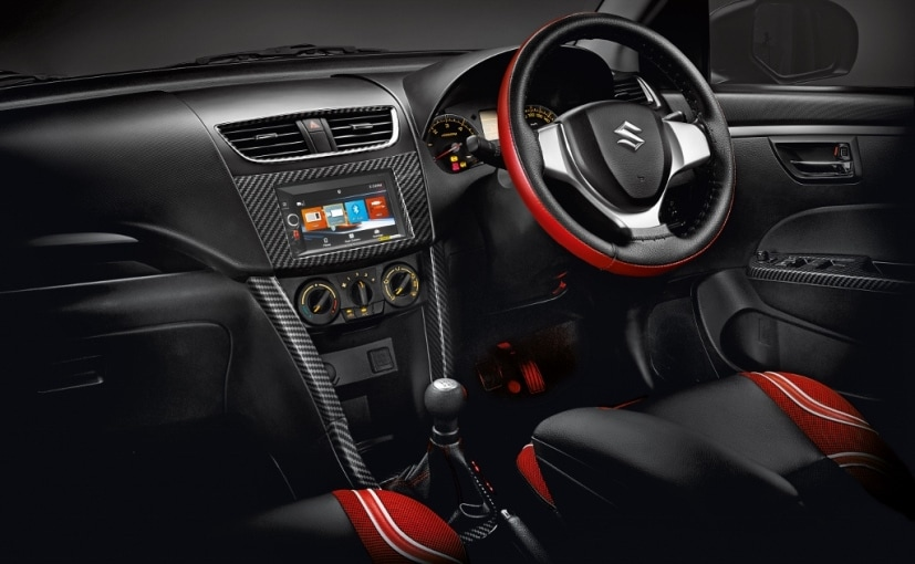 maruti suzuki swift deca limited edition launched at rs lakh ndtv carandbike. Black Bedroom Furniture Sets. Home Design Ideas