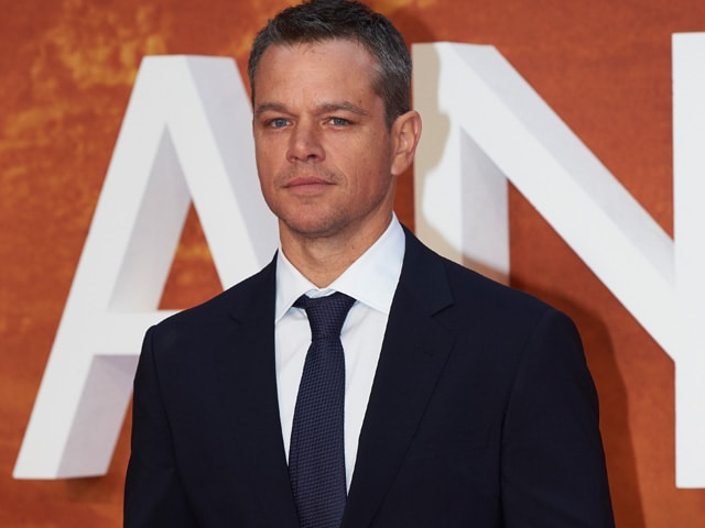 Here's Why Matt Damon Will Take a Break From Acting