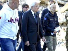 Italian President Visits Quake-Devastated Town, Thanks Rescue Workers