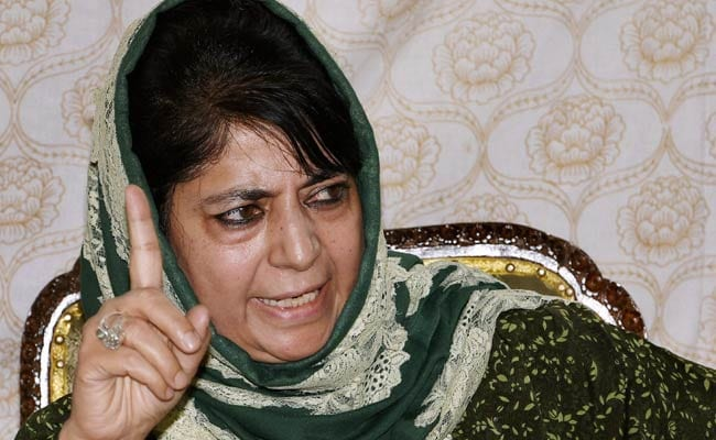 Only PM Narendra Modi Can Heal Jammu And Kashmir's Wounds: Mehbooba Mufti