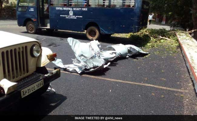 Fuel Tank Falls Off From MiG-29 During Takeoff In Vizag, No Casualty