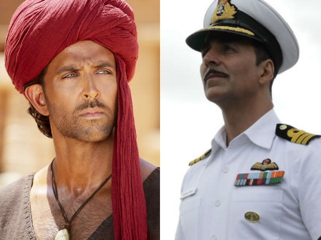 Hrithik and Akshay Exchanged Tweets About Mohenjo Daro vs Rustom