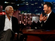 How Morgan Freeman Performed a Task on <I>Jimmy Kimmel Live</i>