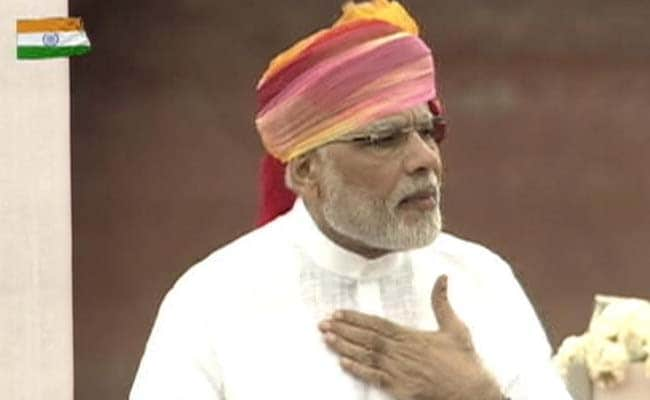 PM Modi Backs Inflation Targeting In Independence Day Speech