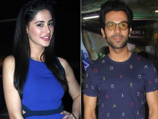 Nargis Fakhri, Rajkummar Rao Are Co-Stars of This New Hollywood Film