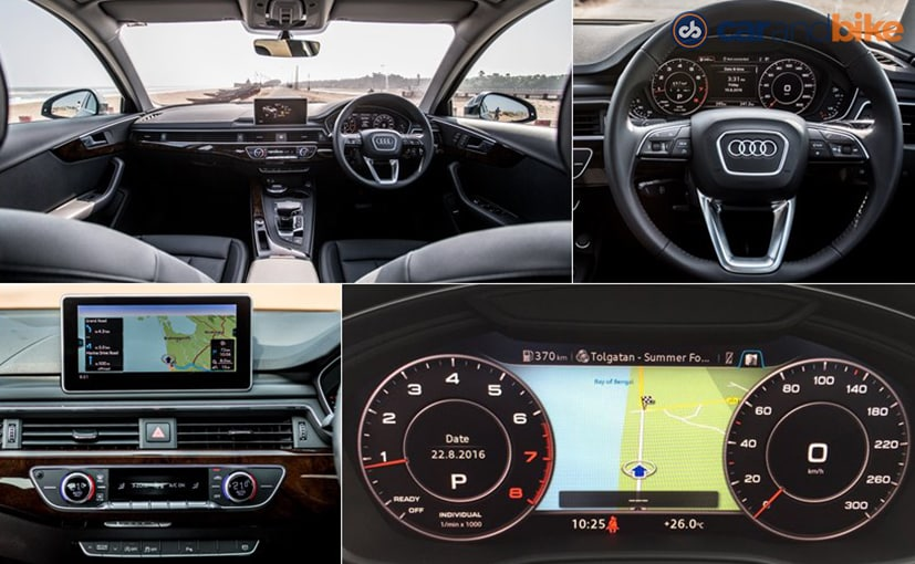New Audi A4 Cabin Features