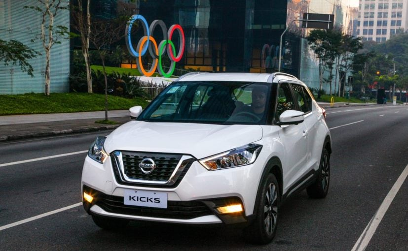 Nissan plans to launch the Kicks SUV in India in December this year