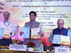 Piyush Goyal Launches Portal For E-Auction Of Power Transmission Projects
