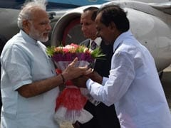 On PM Modi's First Visit To Telangana, KCR Puts Up An Impressive Show
