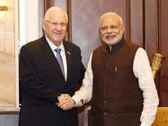 Israeli President Reuven Rivlin Arrives In Mumbai For 8-Day Visit